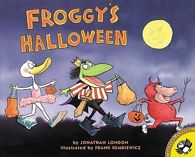 Froggy Series Froggy's Halloween by Jonathan London (Paperback)FREE shipping $35](Froggy's Halloween)