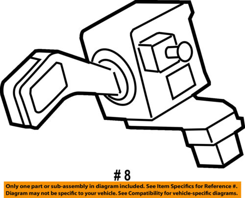 Audi Oem 14 15 R8 Turn Signal Switch Lever Control Handle