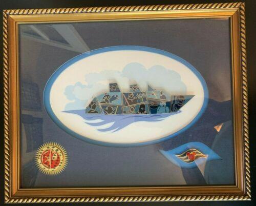 Disney Cruise Line Star Wars Mystery Ship Smashup - Day at Sea Framed 10 Pin Set