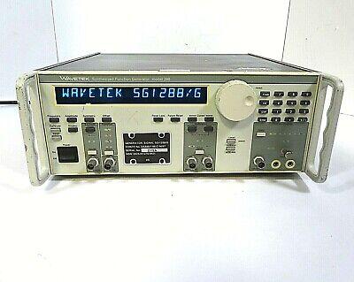 Wavetek Synthesized Function Generator Model 288 - Free Shipping