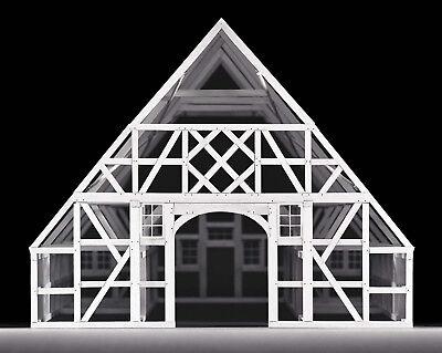 Fachwerkhaus Puzzle Fachwerk - Design - Holz - Baukasten Zimmermann Tischler