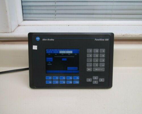 Allen-Bradley PanelView 600 2711-K6C8 Ser C Rev A FRN 4.44 Color Terminal Used