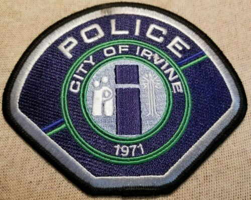 CA City of Irvine California Police Patch