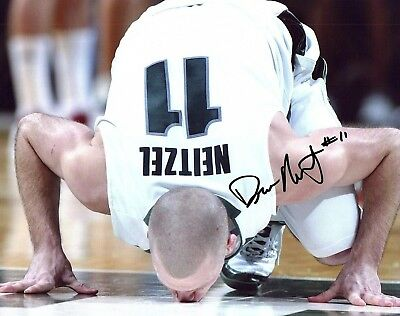 Drew Neitzel signed auto photo Michigan State basketball Big10 Spartans MSU e