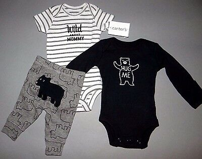 Baby boy clothes, 9 months, Carter's Adorable 3 piece set