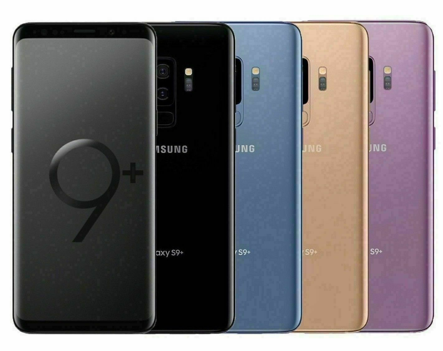 Android Phone - Samsung Galaxy S9+ PLUS SM-G965U 64GB FACTORY Unlocked DEVICE 4G ~OB~ Excellent