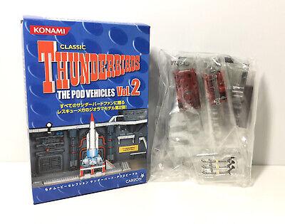 Konami SF Carlton The Pod Vehicles 2 Classic Thunderbirds Monobrake & Domo Model