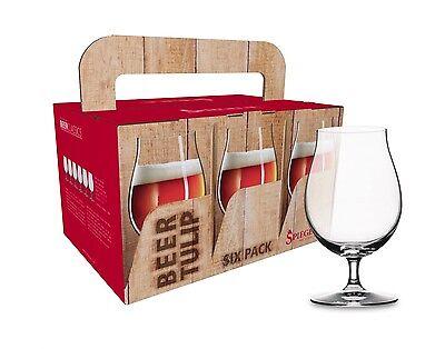 6 Pilsgläser - Biertulpen Spiegelau Beer Classics Sixpack,Bierglas, 1.Wahl (Six Pack Bier)