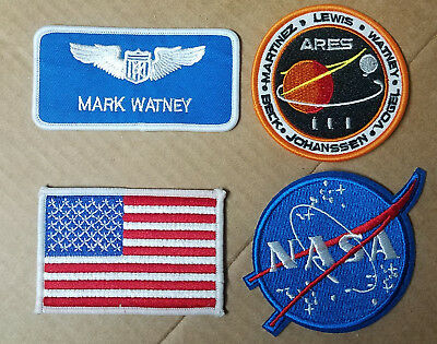 The Martian Movie Costume Patch. Your Choice.
