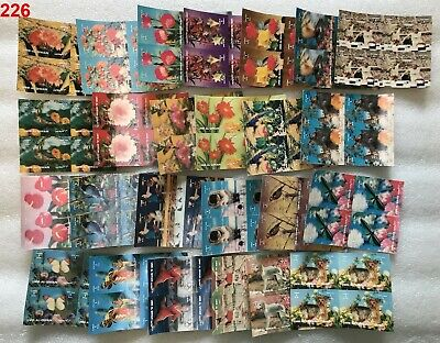 # UMM AL QUWAIN - MNH - 3D - SPORTS, BIRDS FLOWERS, BUTTERFLY - 100 STAMPS