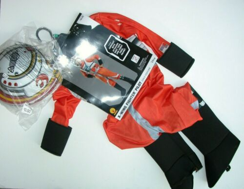 NWT NEW Halloween Costume X-wing Fighter Pilot Child Youth M (8-10)