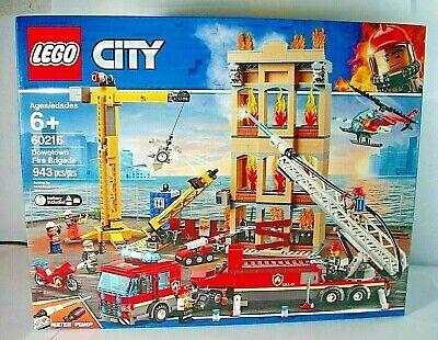 "Lego-""City-Downtown Fire Brigade""Set No.60216 Brand-New&Factory-Sealed"