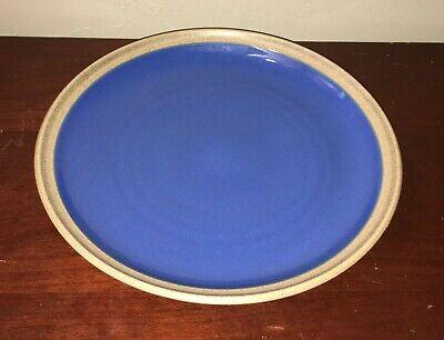 Noritake 12' Round Madera Blue Platter 8476