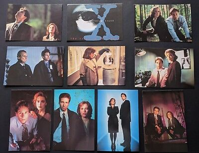Vintage The X-Files Postcards Lot of 10 NEW