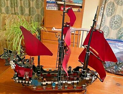 LEGO 4195 - Pirates of the Caribbean Queen Anne's Revenge 100% Complete - No Box