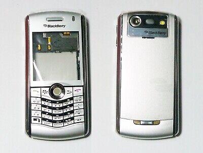 silver Housing cover fascia case facia faceplate for BlackBerry Pearl 8120