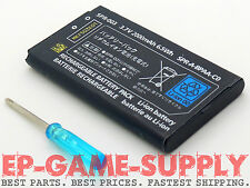 New Battery Replacement + Tool For Nintendo 3DS XL 2000mAh 3.7V Rechargeable