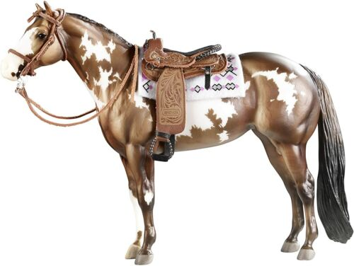Breyer New * Cimarron Western Pleasure Saddle * 2494 Traditional Model Horse