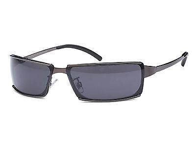Dunkle schmale stilvolle Herren Sonnenbrille Polycarbonat Gläser Rad Bikerbrille