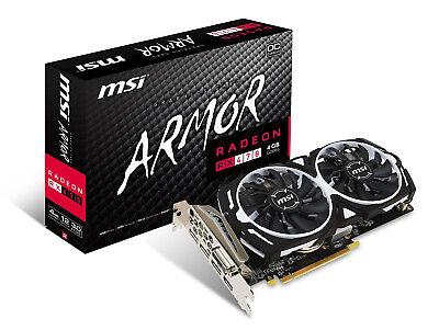 MSI Gaming Radeon RX 470 GDDR5 4GB Crossfire FinFET DirectX 12 Graphics Card