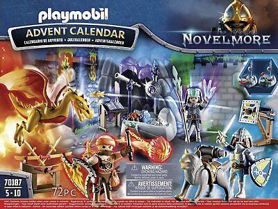 PLAYMOBIL ADVENT CALENDAR CHRISTMAS 72PC BRAND NEW 70187 4+
