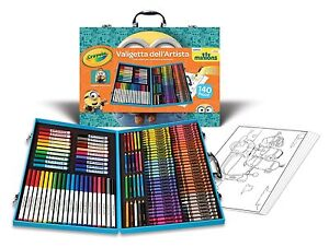 Minions Crayola Inspiration Art Case 140 pc Pencils, Crayons, Markers, Colouring