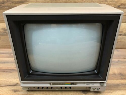 Vintage Commodore Model 1702 Video Monitor