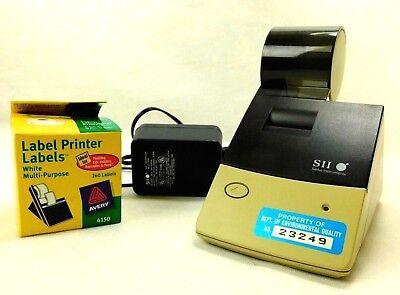 Seiko Instruments Sii Slp1100 Direct Thermal Smart Label Printer Ez30 Avery 4150