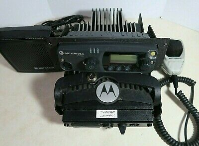 Motorola Pm1500 Uhf P25 Mobile Radio 380-470 Mhz 255 Channels 110 Watts