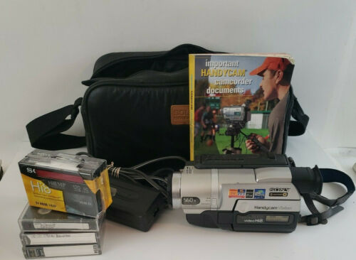 Sony Handycam CCD-TRV608 Hi-8 Analog Camcorder with 8mm Cassettes