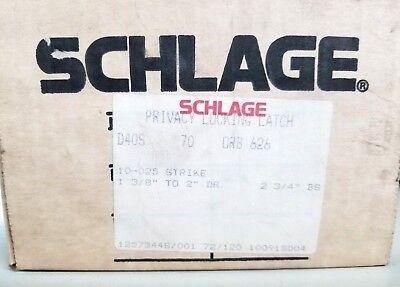 Schlage D40s 70 Privacy Locking Latch