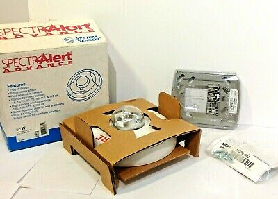 Spectra Alert Advance Fire Alarm Strobe Ceiling Std Cd White System