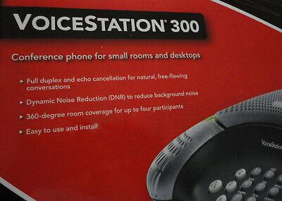 Nib New Polycom Voicestation 300 Conference Phone  2200-17910-001
