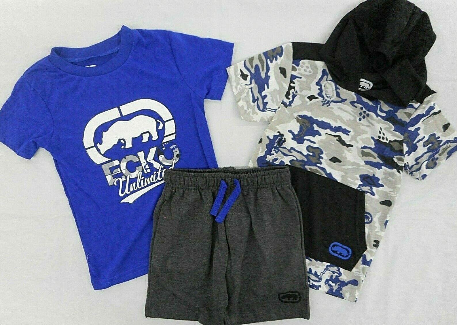 $48 L.S T-Shirts /& Jogger Pants Set Size 4T Toddler Boys Ecko Unltd /& S.S