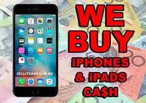 Buy CASH used or broken IPHONE , IPAD Highest Price any condition Perth Perth City Area Preview