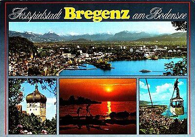 Bregenz am Bodensee , Ansichtskarte
