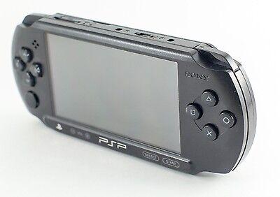 Sony Psp Street E1000 E1004 E1008 Charcoal Black Ebay