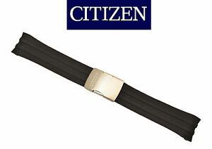 Citizen-CB0020-09E-Original-Watch-Band-23mm-BLACK-Rubber-Strap-59-S52108