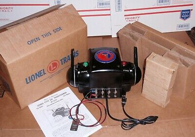 """Professionally Rebuilt & Upgraded ZW """"R"""" Whistle & Bell Lionel Box All New Parts"""