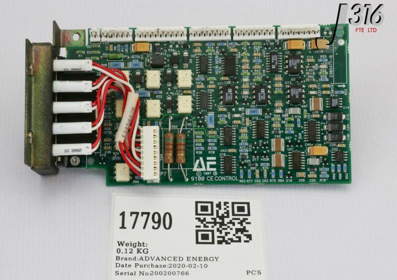 17790 Advanced Energy Pcb, 9100 Ce Control, 1305777d 2305477-b