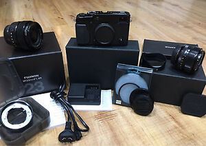 Fuji X-Pro1 w/ 23mm + 35mm Lenses, Accessories and More Paddington Eastern Suburbs Preview