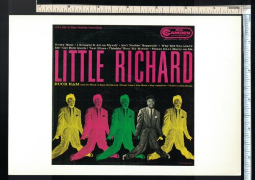 Soul R&B Post Card/Mini Poster Little Richard 1956 Psychedelic LP Cover (5.5x8)