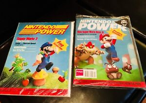 Nintendo Power 1st & last editions