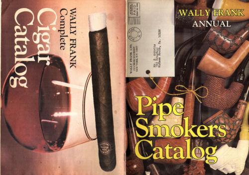 Pipe  Smokers & Cigar Catalog Wally Frank Annual Tobacciana