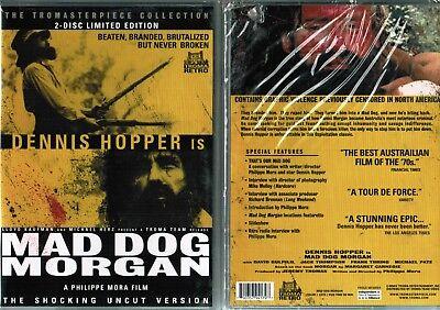 Mad Dog Morgan New DVD From Troma Horror Dennis Hopper New Mad Dog