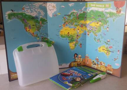 Leapfrog interactive map tag reader per toys indoor gumtree leap frog tag interactive learning system gumiabroncs Gallery