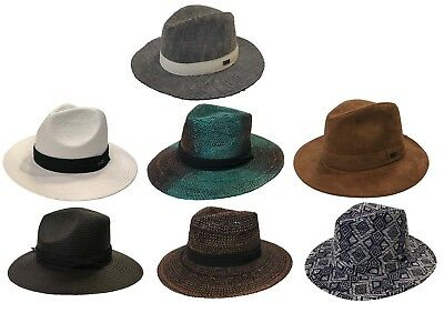 Mark Mcnairy Original Chuck Fedora Panama Style Trilby Genuine Bucket Hat Cap