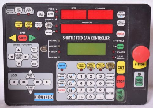 Becterm Shuttle Feed Saw Controller BRC1A-SF