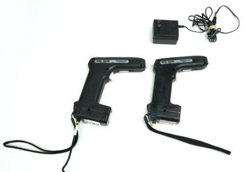 Set of 2 Desco 19680 Portable Ionizing Air Gun High Frequency AC Ionization