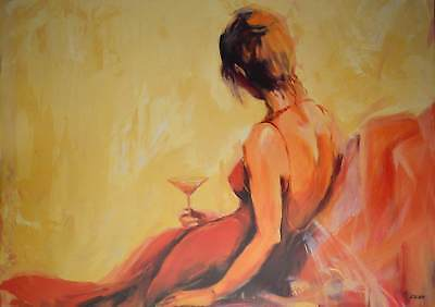 Elena Filatov Just for one drink Poster Kunstdruck Bild 70x100cm - Germanposters